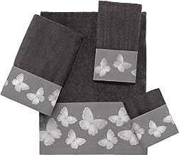 مجموعة مناشف الحمام 039176 GTE من Avanti Linens ، اليد ، Wahscloth ، إصبع إصبع ، غرانيت