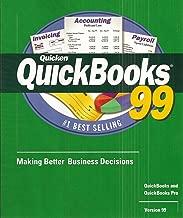 QuickBooks 99/ QuickBooks Pro 99 (Version 99) (User Manual, Cd, Installation and Conversion Guide)