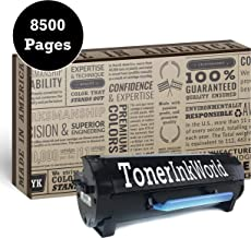 TIW B2360d Replacement Black Toner Cartridge for Dell B2360, B2360dn, B2360d, B3460, B3460N Printers, High Yield 8,500 Page Printing, Home or Commercial Use, M11XH, C3NTP, 331-9806 and 331-9805.