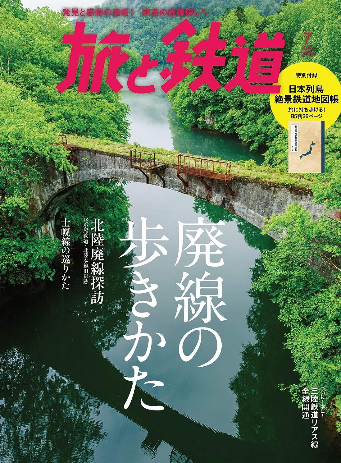 摂氏度ドラフト大旅と鉄道 2019年7月号 廃線の歩きかた [雑誌]