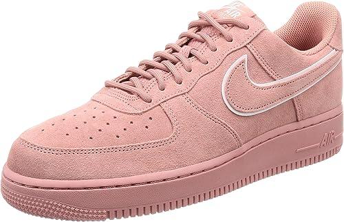 Nike Nike Nike NIKEAA1117-601 Air Force 1 '07 Lv8 - Daim - Rouge (rouge Stardust) Aa1117-601 - Homme Homme 1dd