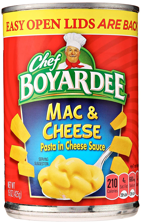 Chef gift BOYARDEE Boyardee Mac Cheese 15 oz Washington Mall