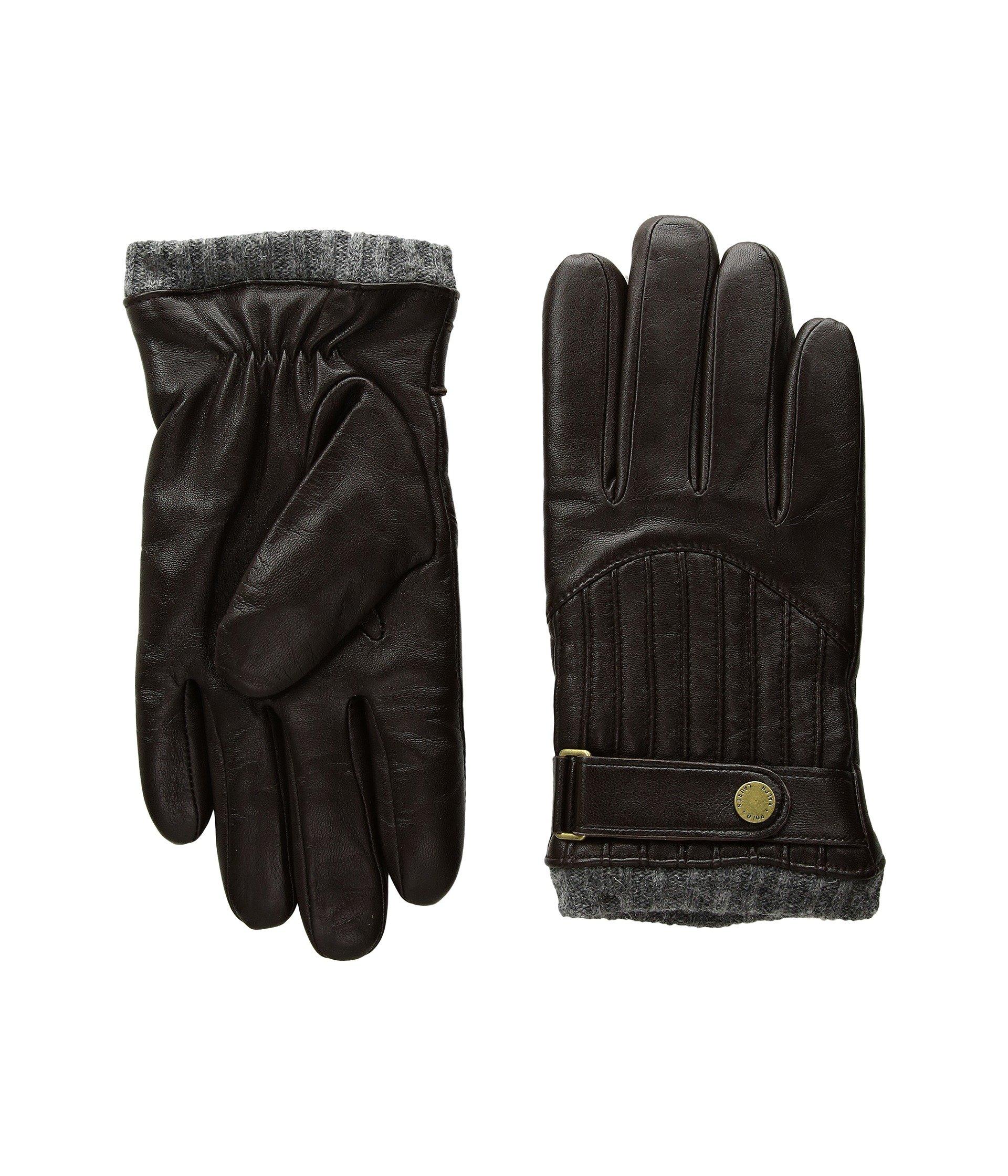 Guantes para Hombre Polo Ralph Lauren Quilted Racing Gloves  + Polo Ralph Lauren en VeoyCompro.net