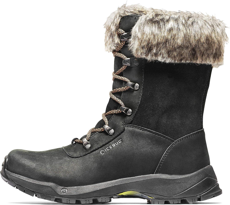 Icebug Women's Woods Michelin WIC Boots Black L9.5
