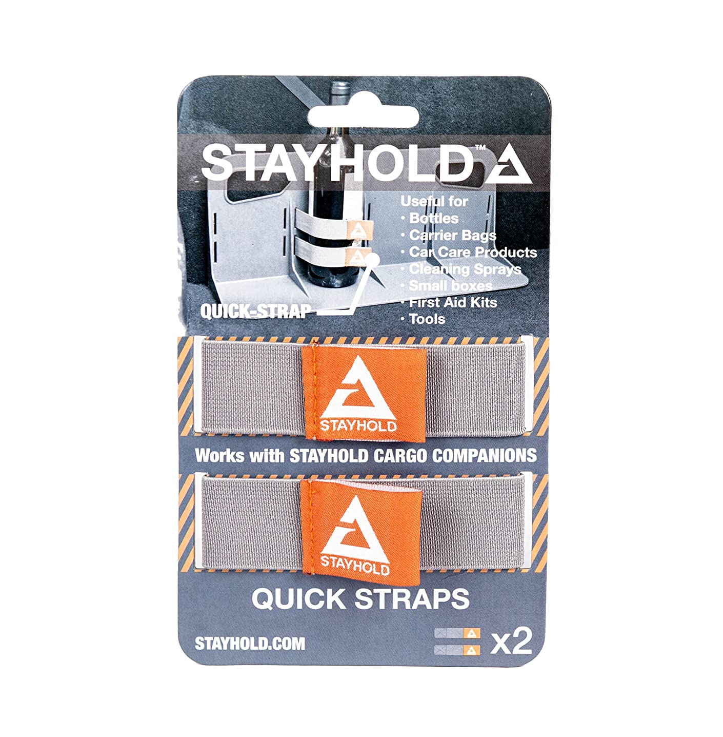 Stayhold SH-SH006 Quick Straps - Double Pack