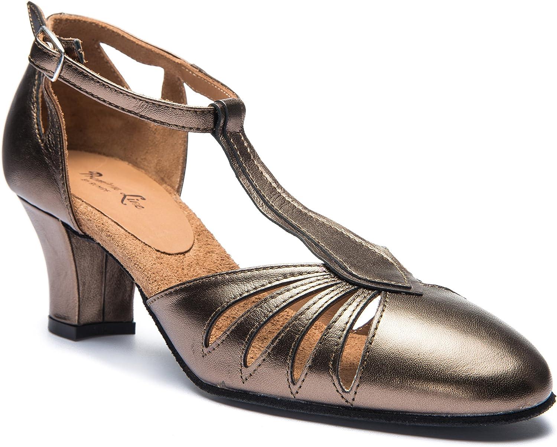 Rumpf 9210 Damen Tanzschuhe Balboa Latein Salsa Rumba Tango Ballroom Schuhe Material Leder, Chromledersohle Absatz 5 cm, Made in  B06XHKKSWM  Bekannt für seine schöne Qualität