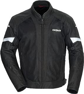 Cortech VRX Air 2.0 Mens Street Motorcycle Jacket - Black/White - Medium