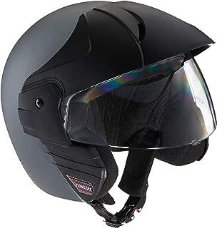 Studds Ninja Concept Eco Half Helmet (Matt Grey, M)