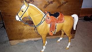 Johnny West custom saddle leather set no horse