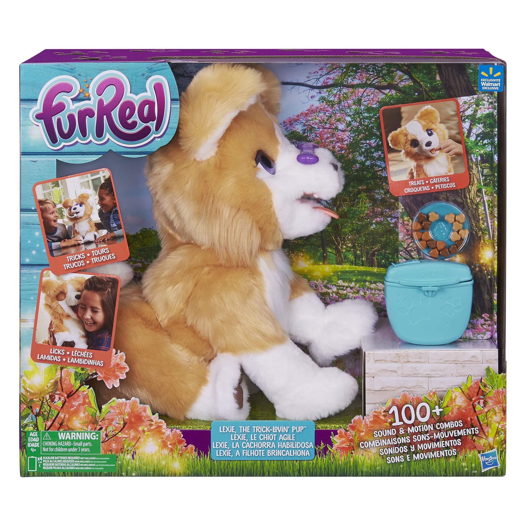 FurReal Lexie Trick Lovin Pup