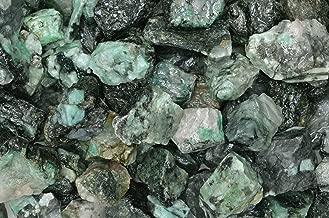 Fantasia Materials: 1/2 lb of Emerald Rough Stones from Brazil - Grade 1