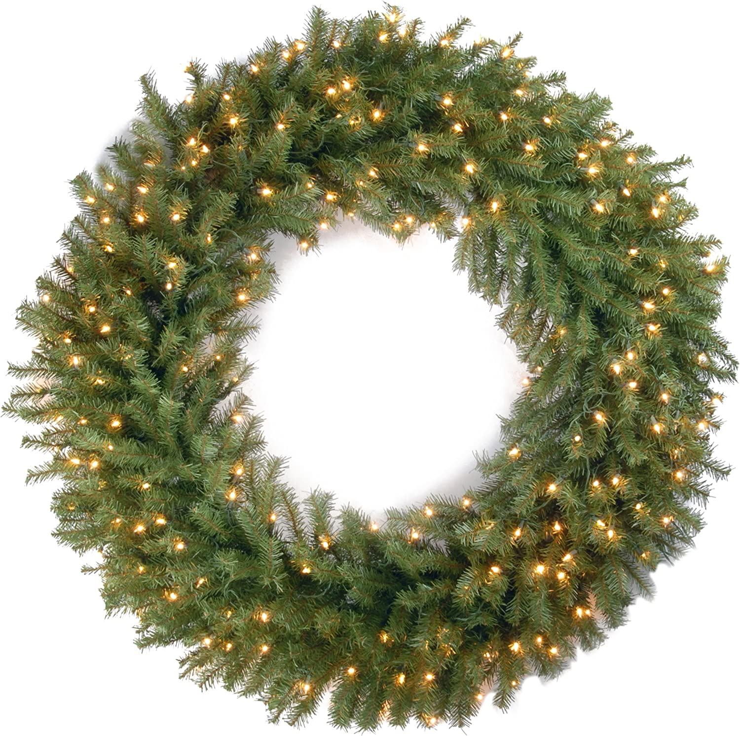 Over item handling ☆ National Tree Company Pre-lit Inclu Wreath Gifts Artificial Christmas