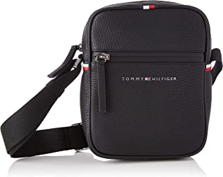 Tommy Hilfiger ESSENTIAL, Borsa. Uomo, Black, One Size