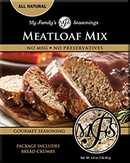 My Family Seasonings Meatloaf Mix, 4.8 Ounce