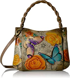 Anna by Anuschka Hand Painted Leather Women'S Slim Shoulder Bag