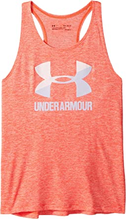 Under Armour Kids - UA Big Logo Novelty Slash Tank Top (Big Kids)
