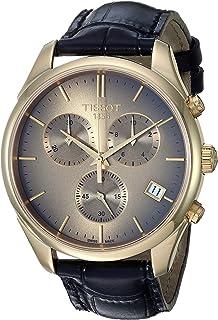Mens Vintage Swiss Quartz Steel And 18K Gold Dress Watch (Model: T9204171629100)