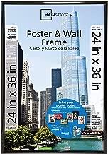 Best mainstays trendsetter 24 x 36 black poster frame Reviews