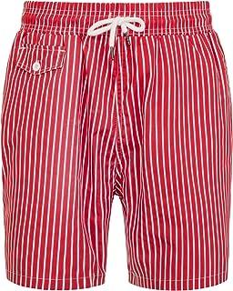 Kapray Clothing Mens Funky Retro Bright Vibrant Colour Mesh Lined Swim Shorts Swimming Beach Holiday Trunks Shorts