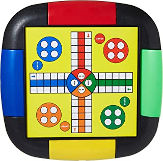 HABARY TOYS MJM57 Multiplayer games-2 IN 1 LUDO-SNAKES
