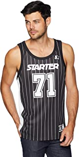 Starter Men's Basketball Jersey Tank Top, Amazon Exclusive