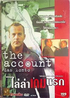 Das Konto (The Account) Uwe Schwartzer, New Import Dvd Region 3 (Asia). German with English Subtitles