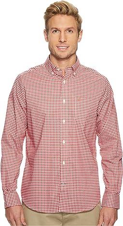 Nautica - Long Sleeve Wear to Work Gingham Shirt