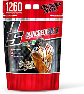 ProSupps IncrediBULK – Dual-Source Whey Protein Blend – Super Weight Gainer Formula, Cookies & Cream – For Hard Gainers – ...