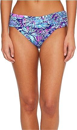 Lilly Pulitzer - Lagoon Sarong Bikini Bottom