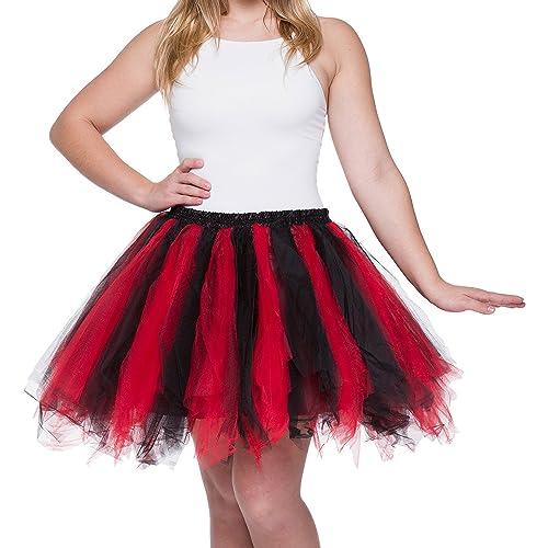 63850076cb Dancina Adult Tutu 50's Vintage Petticoat Tulle Skirt for Women  Regular/Plus Size w/