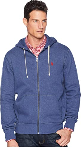 8f5f618e8 Polo Ralph Lauren Classic Fleece Full-Zip Hoodie at Zappos.com