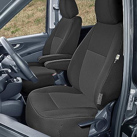 Sitzbezüge Tailor Made Passgenau Geeignet Für Mercedes Vito W447 Ab 2014 3sitzer Stoffbezüge Neuheit Auto