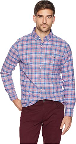 Lockwood Flannel Slim Tucker Shirt