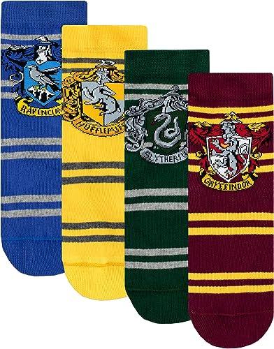 HARRY POTTER - Chaussettes Pack de 4 - Hogwarts - Enfants