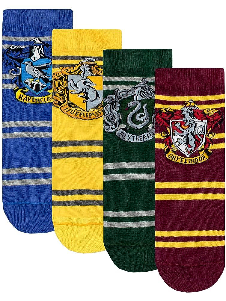 Harry Potter Kids Hogwarts Socks Pack of 4