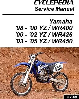 1998-2005 Yamaha YZ/WR400/426/450F Service Manual