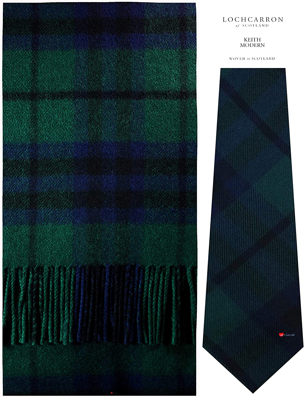 Scarf Tie Gift Set Keith Scottish Clan Max 59% OFF Max 79% OFF Modern Tartan