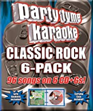 Party Tyme Classic Rock 6-Pack 96-Song Party Pack