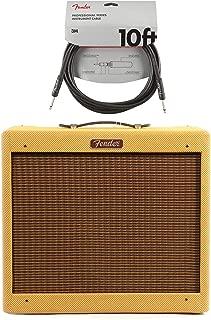 Fender Blues Jr LTD C12-N Lacquered Tweed Cable Bundle