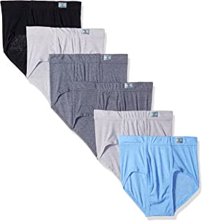 Fruit of the Loom Men's 6pk Fashion Brief, Assorted, X-Large