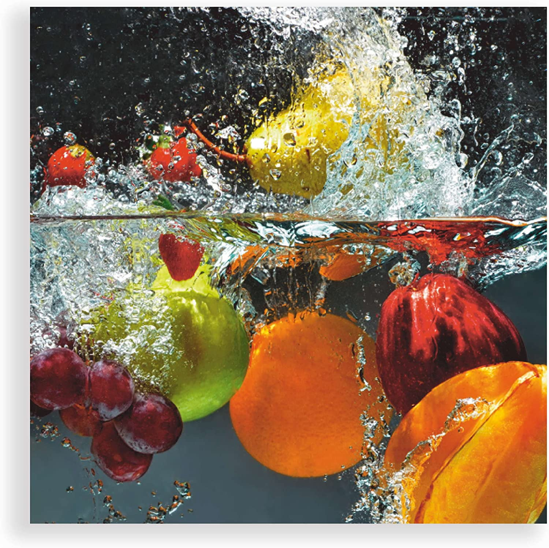 Artland Qualitätsbilder I I I Glasbild Küche Wandbild Deko ...
