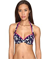 Tommy Bahama - Graphic Jungle Underwire Halter Bikini Top