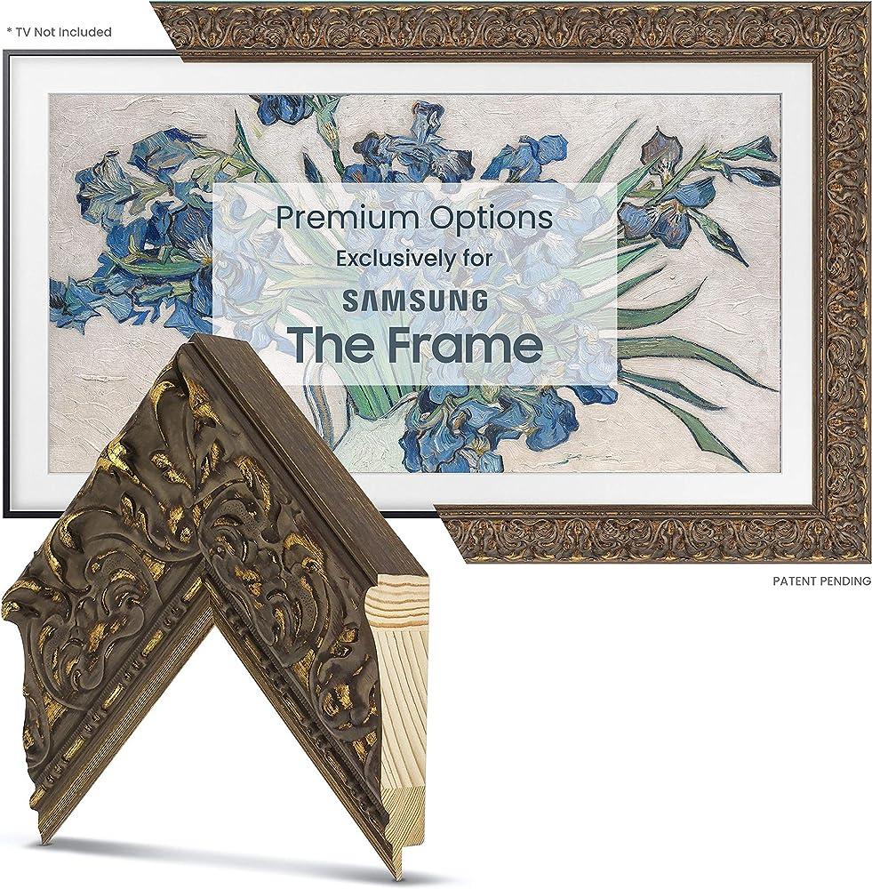 Frame My TV  cornice in oro antico toscano per tv samsung 43 pollici FRM-SF-D5085-43