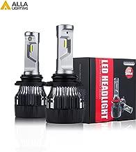 ALLA Lighting HB4 9006 LED Headlights Bulbs S-HCR Newest 10000Lms Extreme Super Bright LED 9006 Low Beam Headlight Conversion Kits Bulbs Replacement for Cars, Trucks, SUVs, 6000K - 6500K Xenon White