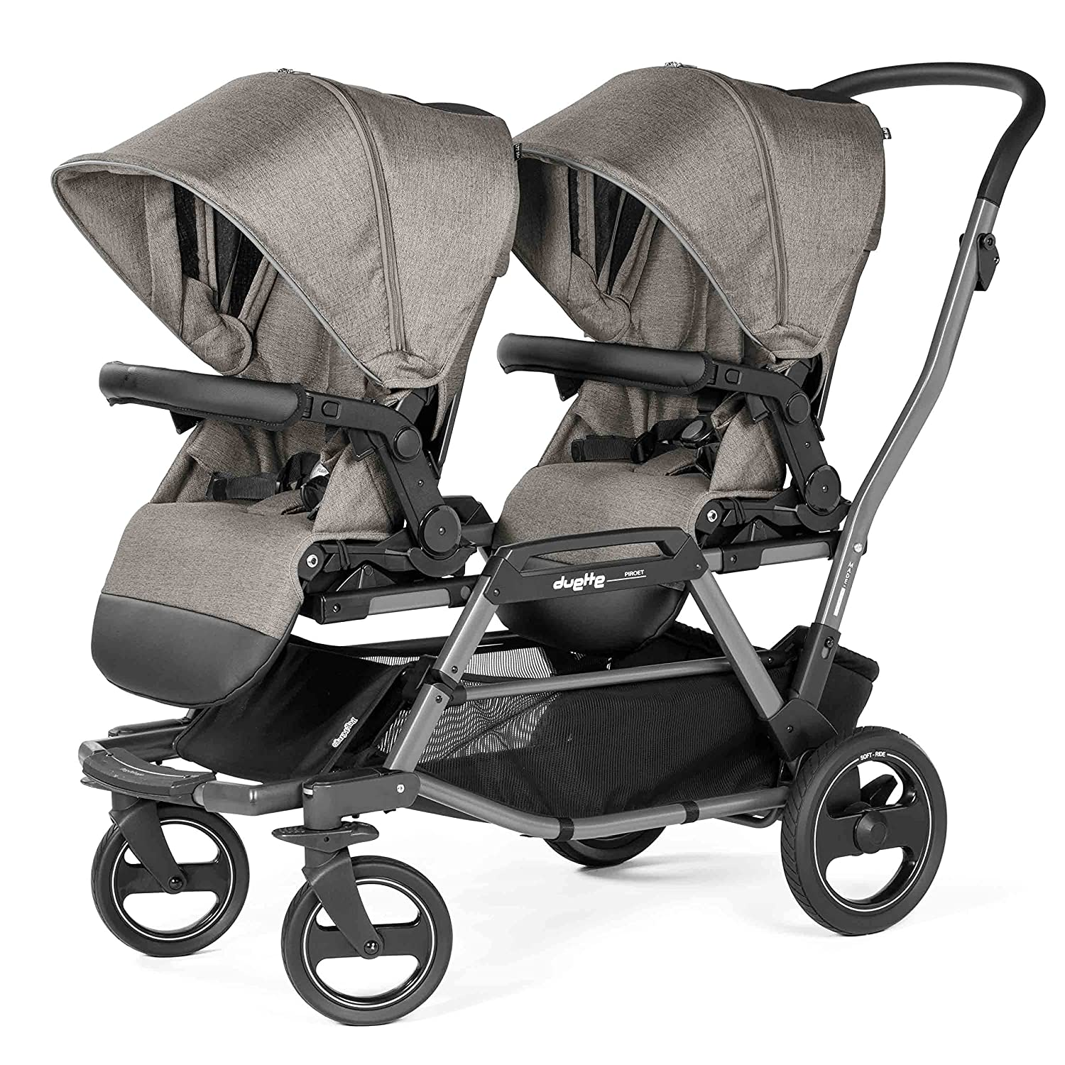 Peg Perego Max 70% OFF Duette Piroet quality assurance Grey Stroller City