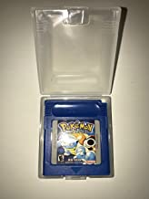 Pokemon Blue Version for Nintendo Game Boy Color GBA GBC w/ Case (Third Party Game)
