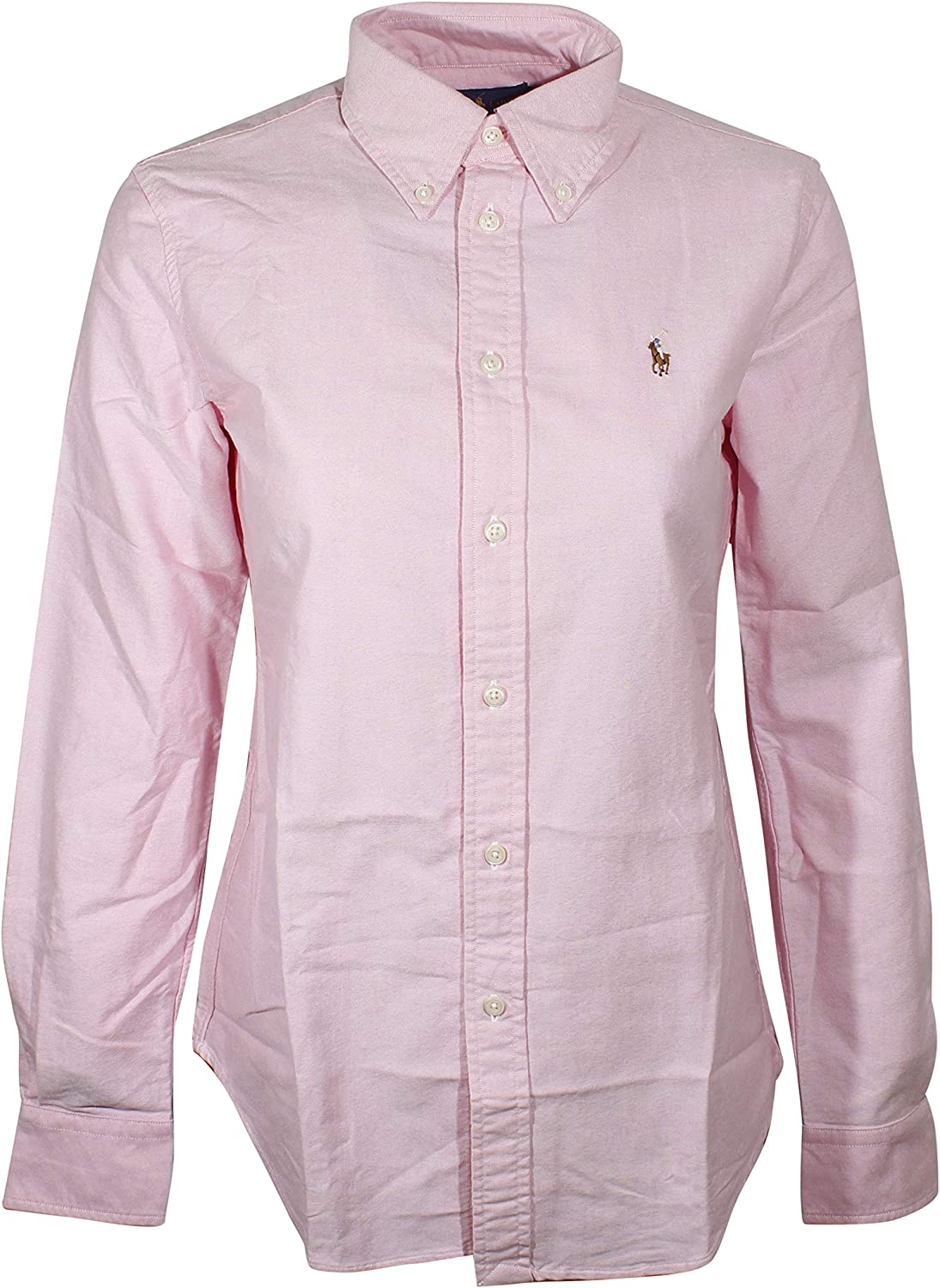 Polo Ralph Lauren Women's Slim Fit Long Sleeve Shirt Buttondown