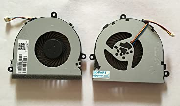 HK-part Replacement Cpu Cooling Fan for HP 250 G4 255 G4 Notebook 15-AC 15-AF Series , 4-Pin 4-Wire SPS 813946-001
