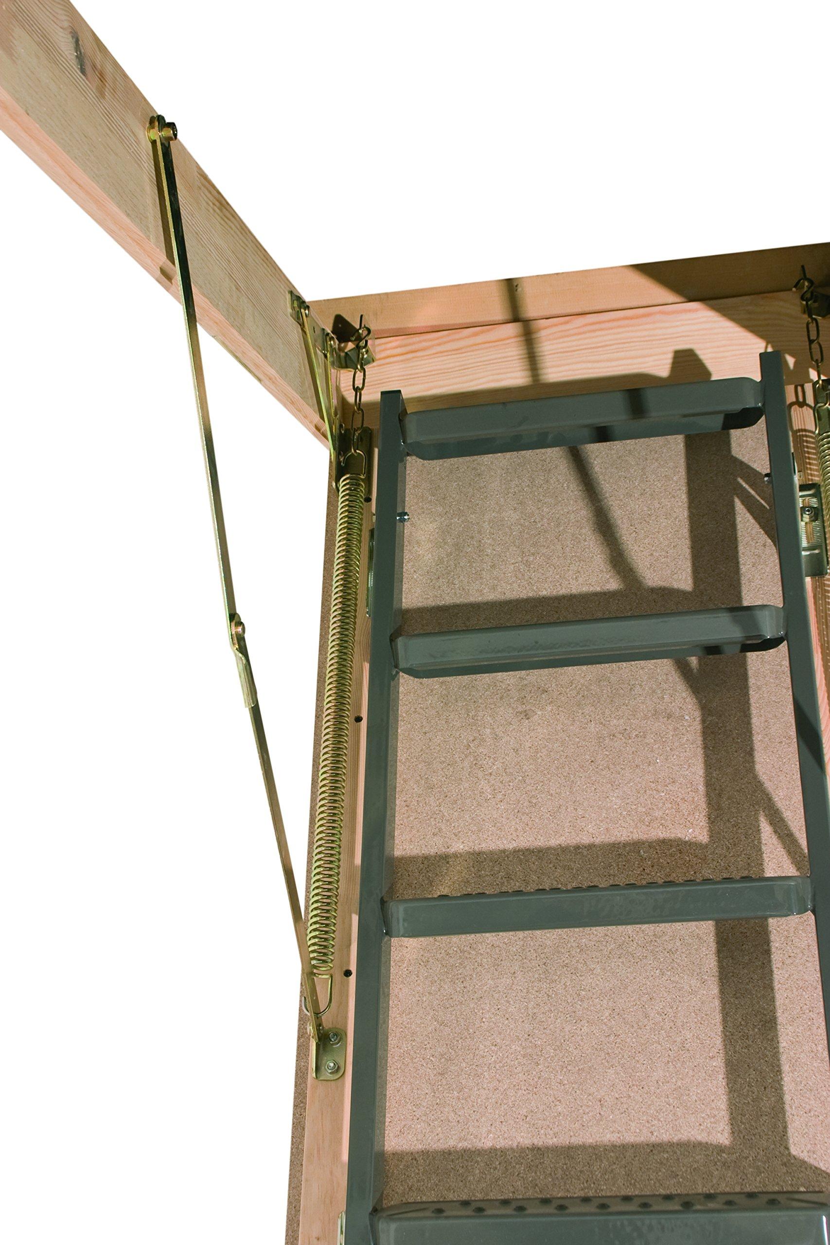 FAKRO OWM Basic Metal No aislado Escalera de ático 136: Amazon.es: Bricolaje y herramientas