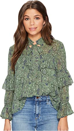 Lucky Brand - High Neck Top